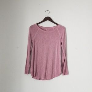 American Eagle soft & sexy pink long sleeve